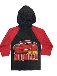 Disney Cars Lightning McQueen Raincoat Slicker