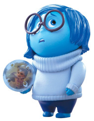 Inside Out Small Figure - Sadness