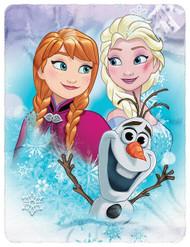 """Disney's Frozen """"Snow Journey"""" Fleece Throw"""