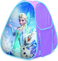 Frozen Elsa And Olaf Hide About Tent With Tunnel