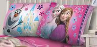 Disney Frozen 'Nordic Floral' Pillowcase
