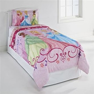 Disney Princess 'Arrive in Style' Reversible Twin Comforter