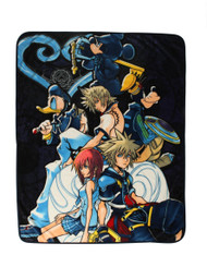 Disney Kingdom Hearts 'Characters' Throw Blanket