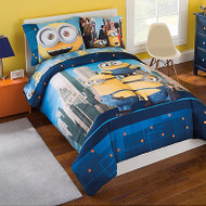 Minions 'Yellow and Cool'  5-Piece Twin Bed Set