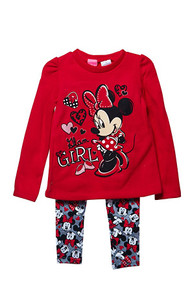 Minnie Mouse 'Glam Girl' Sweater and Leggings Set
