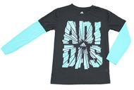 Adidas Boys 'Breakthrough' Dry Fit Performance Top
