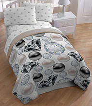 "Sky Covers Inc. ""Pearls & Diamond"" Full Size Sheet Set"