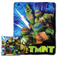 """TMNT """"Turtle Fever"""" Pillow & Throw Set"""