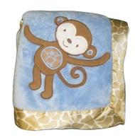 """Bananafish """"Mosaic Jungle"""" Plush Blanket"""
