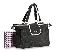 "Carter's ""Tonal Dot"" Fashion Tote Diaper Bag"