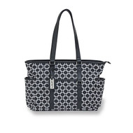 "Carter's ""Studio"" Tote Diaper Bag with Stroller Accessory"