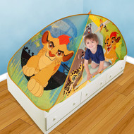 """Play Hut Lion Guard 2-in-1 Bed Tent, Green, 72"""" x 35"""" x 35"""""""