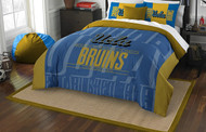NCAA UCLA Bruins Full/Queen Size Comforter and Shams Set