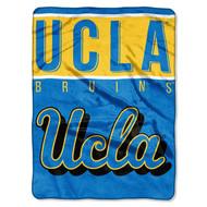 NCAA UCLA Bruins Basic Plush Raschel Blanket