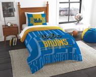 NCAA UCLA Bruins Twin Size Comforter & Sham Set
