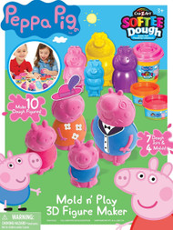 Cra-Z-Art Peppa Pig Softee Dough Figure Maker
