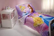 Disney Princess 'Dress to Shine' 4-Piece Toddler Bed Set