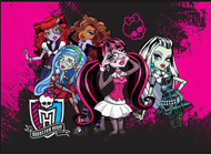 "Monster High ""Clique"" Area Rug"