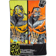Transformers 4: Clash of the Bots Plush Blanket