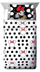 Minnie Mouse 'Classic Dots Couture' Twin Sheet Set