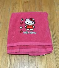 Hello Kitty 'Hearts' Bath Towel