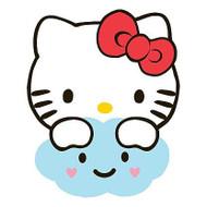 Hello Kitty 'Fluttering Hearts' Bath Rug