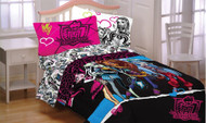 Monster High 'Dolls Ghouls Rule' Twin Comforter