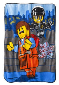 The Lego Movie 'Groundbreaker' Plush Throw
