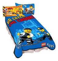 Lego City 'Catch Me' Micro Raschel Blanket