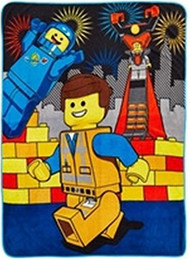 The LEGO Movie The Prophecy Plush Throw
