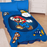 Super Mario Bros 'Who's With Me' Plush Blanket