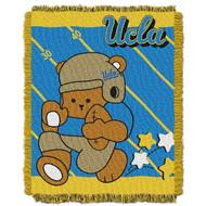 NCAA UCLA Bruins Triple Woven Jacquard Throw