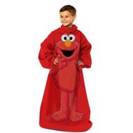 Sesame Street 'Elmo' Comfy Throw Blanket w/Sleeves