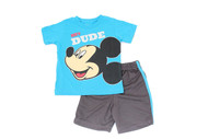 "Mickey Mouse ""Hey Dude"" 2-Piece T-Shirt & Shorts Set"