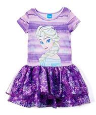 Disney Frozen 'Elsa' Purple Tutu Dress
