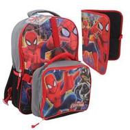 """Marvel Spiderman 16"""" Backpack (3-Piece Set)"""