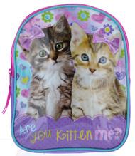 """Kittens """"Are you Kitten me?"""" Mini Toddler 10"""" Backpack"""