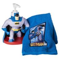 Batman Lotion Pump & Fingertip Towel Set