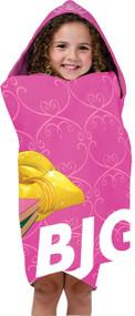 Disney Princess Belle 'Dream Big' Hooded Towel
