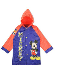 Disney Mickey Mouse Blue/Red Rain Slicker