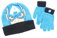 Captain America 2-Piece Knit Hat and Glove Set