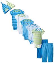 Gerber Boys 9-Piece Playwear Bundle Set (0-3 months)