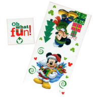 Disney Mickey Mouse Christmas Towel & Washcloth Set
