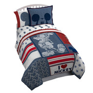 Mickey Mouse 'Americana' Twin Bed-In-A-Bag