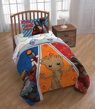 Guardians of The Galaxy 'Outlaws' Twin Comforter