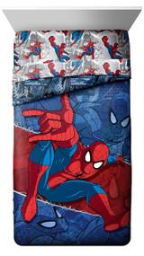 Spiderman 'Burst' Twin Reversible Comforter