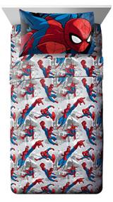 Marvel Spiderman 'Burst' Twin Sheet Set