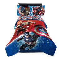 Captain America: Civil War 'Warriors' Twin/Full Comforter