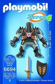 PLAYMOBIL Super 4 Black Colossus Figure Building Kit