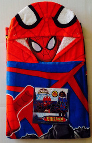 Spider-Man 'Web-Warriors' Hooded Towel